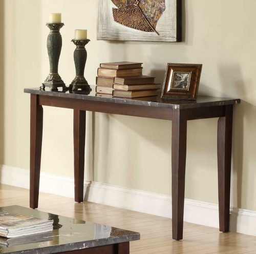 Decatur Sofa table - Espresso