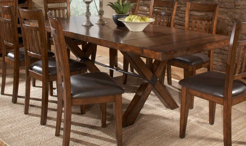 Vasquez Dining Table - Warm Oak