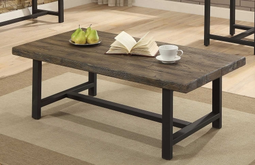 Anacortes Cocktail Table - Burnished Natural-Finish