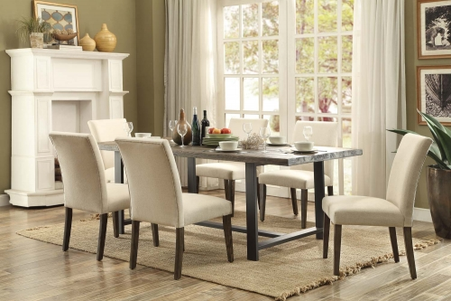 Anacortes Dining Set - Burnished Natural