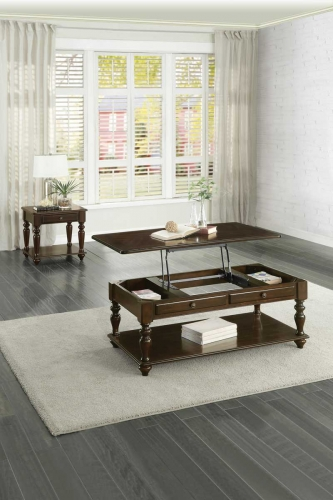 Lovington Cocktail/Coffee Table Set - Espresso