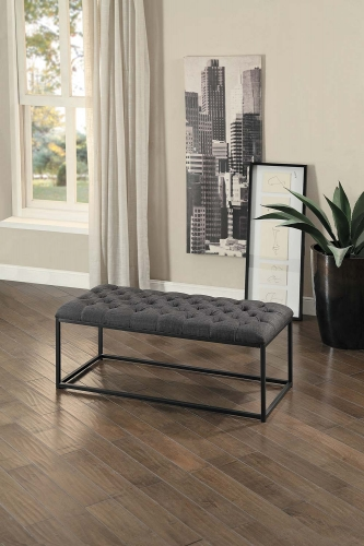 Destry Bench - Dark Gray