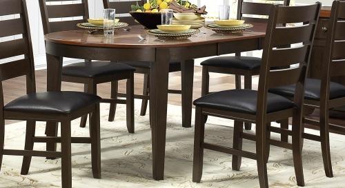 Grunwald Dining Table - Dark Brown