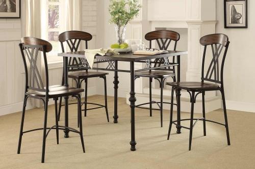 Loyalton Counter Height Dining Set - Wood/Metal