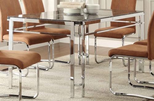 Watt Dining Table - Metal