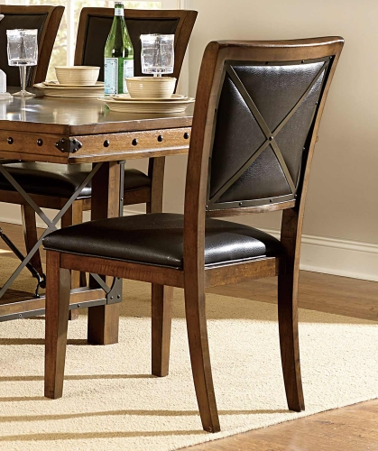 Urbana Side chair - Burnished Brown