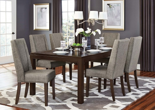 Kavanaugh Dining Set - Dark Brown