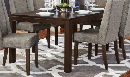 Kavanaugh Dining Table - Dark Brown