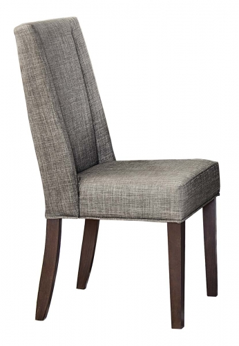 Kavanaugh Side Chair - Dark Brown/Brownish Grey