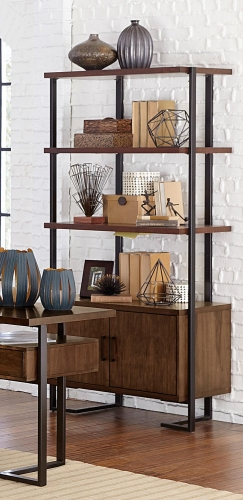 Sedley Bookcase - Walnut