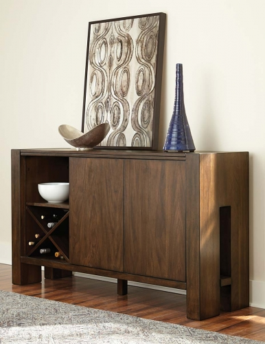 Sedley Server - Walnut