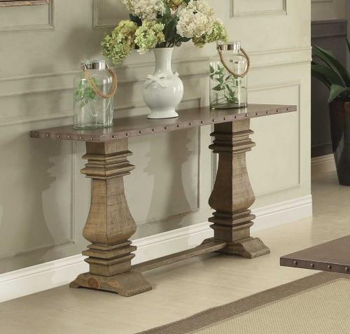 Anna Claire Sofa Table - Driftwood