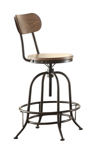 Angstrom Counter Height Chair - Adjustable Height
