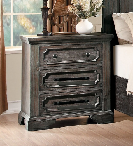 Toulon Night Stand - Rustic Acacia
