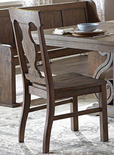 Toulon Side Chair - Wire Brushed