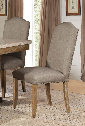 Jemez Side Chair - Weathered Wood