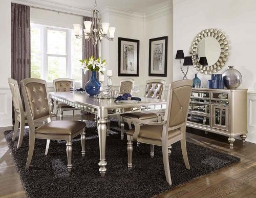 Orsina Dining Set - Silver