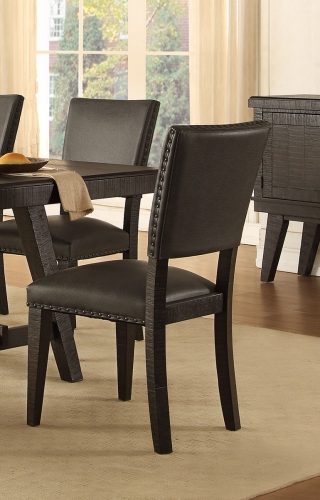 Fenwick Side Chair - Dark Gray
