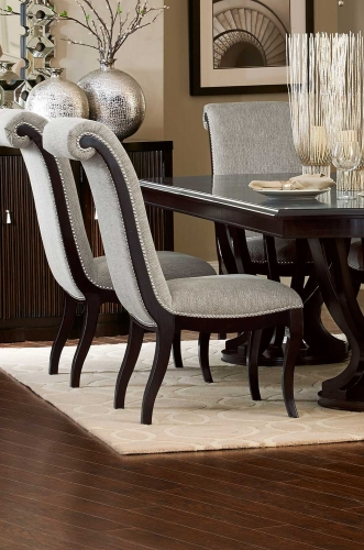 Savion Side Chair - Espresso