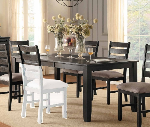 Stevensville Rectangular Dining Table with Leaf