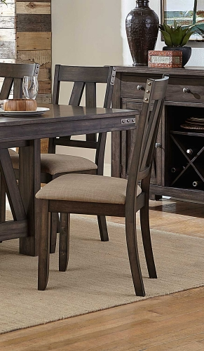 Mattawa Side Chair - Brown/Hints of Gray Undertone