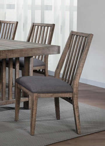 Codie Side Chair - Brown Burnishing/Gray Undertones