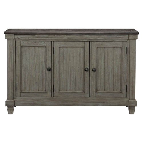 Granby Server - Antique Gray and Coffee