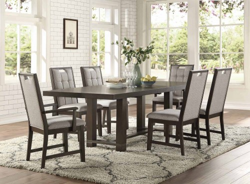 Rathdrum Dining Set - Dark Oak