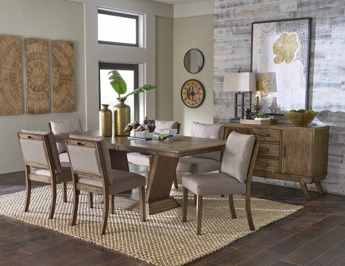 Mesilla Dining Set - Oak