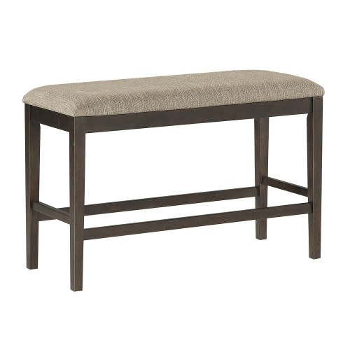 Balin Counter Height Bench - Dark Brown