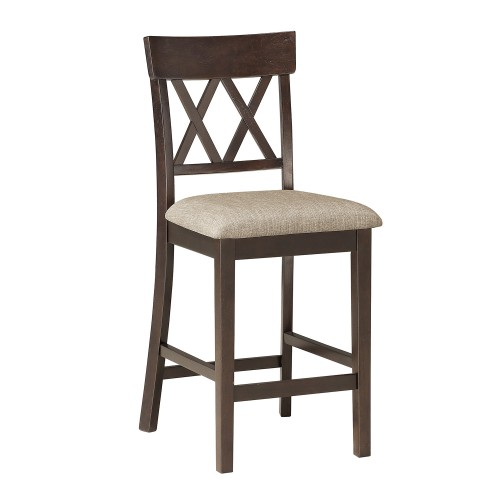 Balin Counter Height Chair - Dark Brown