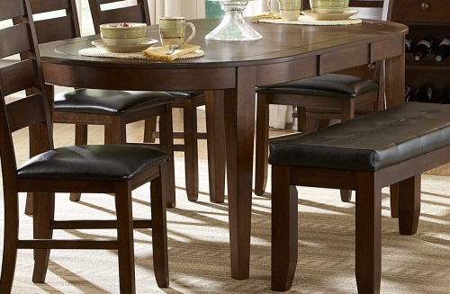 Ameillia Oval Dining Table