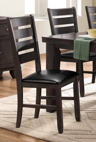 Ameillia Side Chair - Grey/Brown