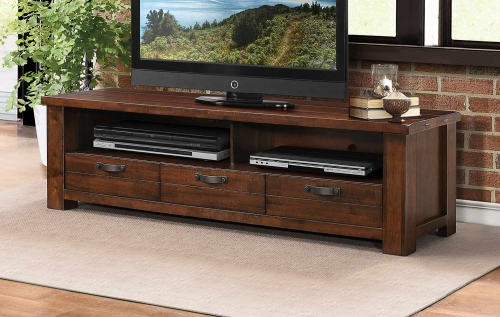 Santos 68-inch TV Stand - Natural Brown