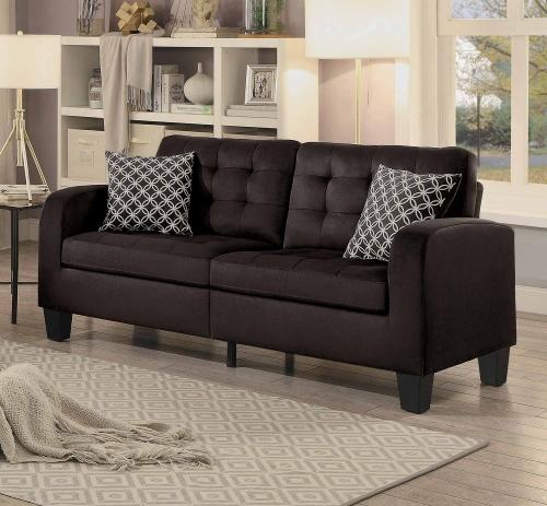 Sinclair Sofa - Chocolate Fabric