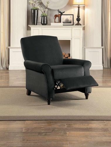 Warrick Push Back Reclining Chair - Gray Fabric