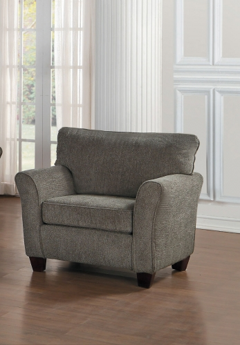 Alain Chair - Gray Fabric