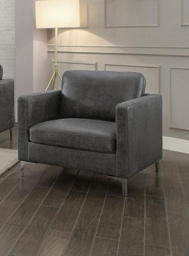 Breaux Chair - Gray Fabric