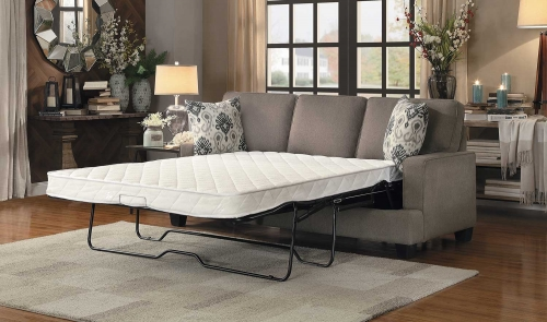 Kenner Sofa Sleeper - Brown Fabric