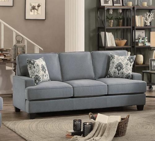 Kenner Sofa - Gray Fabric