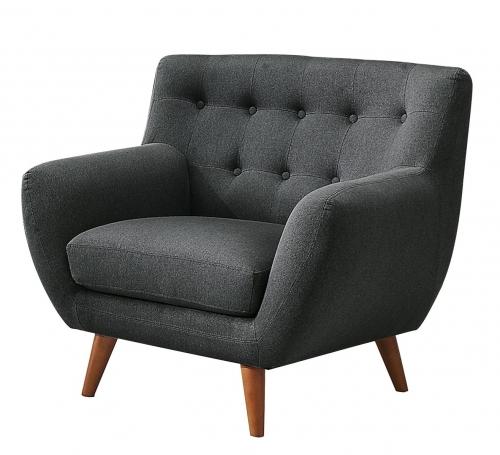 Anke Chair - Polyester - Dark Grey