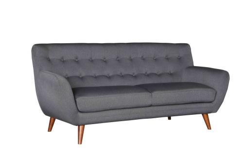 Anke Sofa - Polyester - Dark Grey