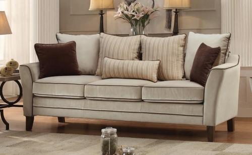 Ouray Sofa - Pebble Textured Velvet