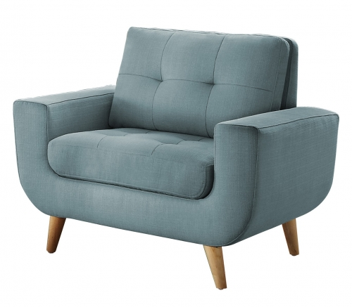 Deryn Chair - Polyester - Teal
