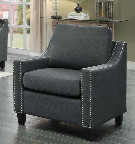 Pagosa Chair - Polyester - Dark Grey