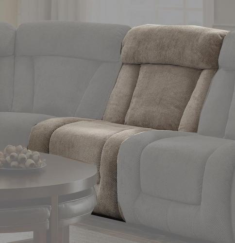 Calumet Ridge Armless Chair - Polyester - Taupe
