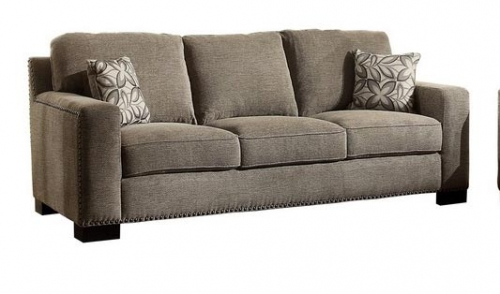 Gowan Sofa Set - Chenille - Brown