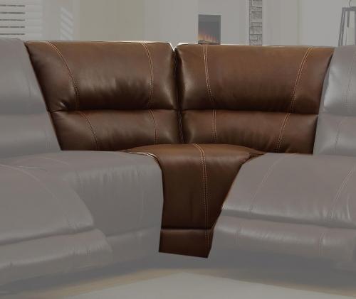 Blythe Corner - Brown - Bonded Leather
