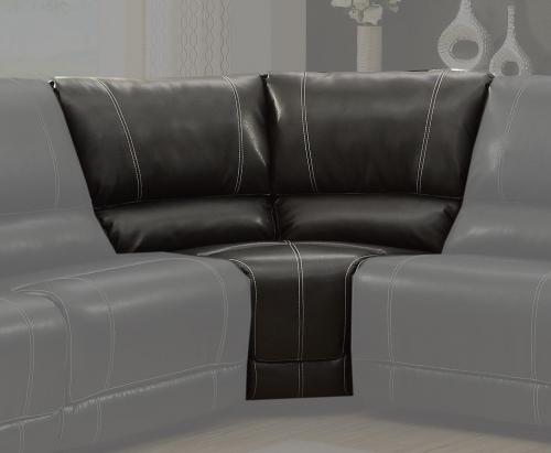 Cale Corner - Black - Bonded Leather Match