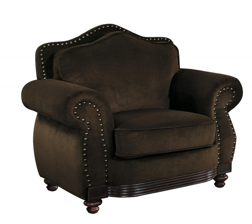 Midwood Chair - Chocolate Chenille